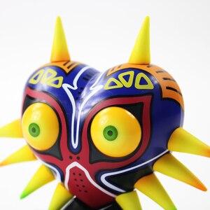 Image 5 - Majoras Mask Majoras Maske mit Licht Tisch Lampe PVC Action Figure Sammeln Modell Spielzeug