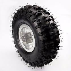 3,50/4,10-4 Zoll Felge + Reifen Reifen 49cc Mini Quad Dirt Bike ATV Buggy