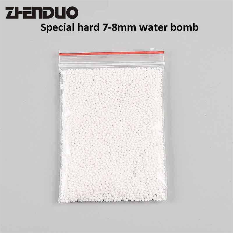 Strengthen Hardness 7-8MM Gel Ball Crystal Bullets For Gun Toys