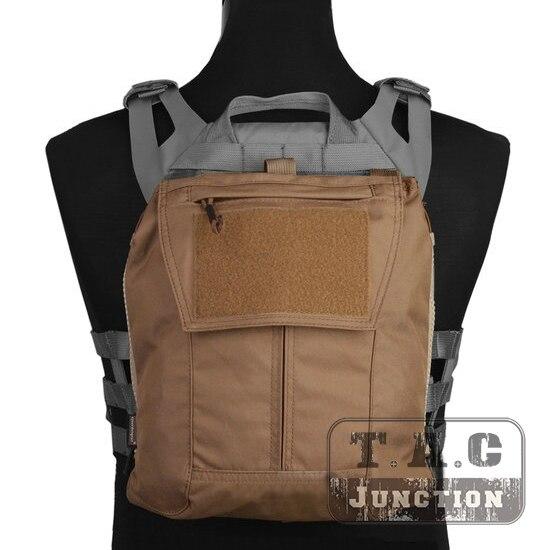 Emerson тактический пакет на молнии Панель EmersonGear плиты Перевозчик сзади Bag гидратация носителей для CPC НЦЧП СКП 2,0 AVS коричневый ...