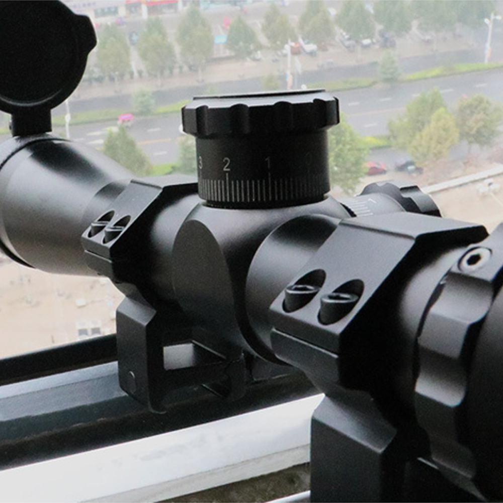 2.5-10X40IR Hunting Riflescopes Tactical Rifle Scope Red And Green Front Sight Continuous zoom Sight Air Guns Weapon Sight 3 5 10x40e red green dot laser sight scope hunting optics riflescopes tactical airsoft air guns scope chasse sniper rifle scope