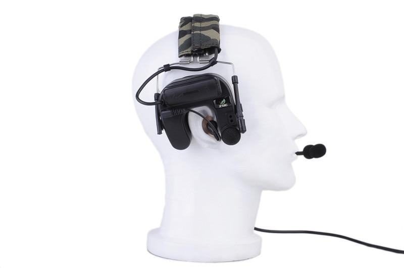Fones De Ouvido Militar Rádio Softair fone de ouvido