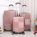 Чемодан на колесиках, Дорожный чемодан, 20 дюймов для студентов и мужчин, чемодан с паролем, универсальная Колесная сумка для ПК