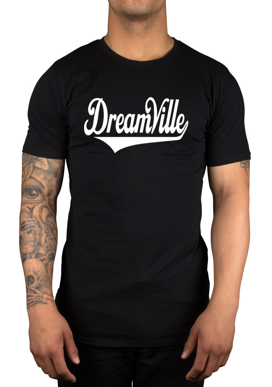 Dreamville Script T Shirt J Cole Dream Forest Hills Drive Work Out