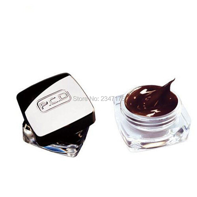 Hot sale PCD permanent makeup microblading pigment paste tattoo ink set cosmetic manual paint 5g for eyebrow tattoo tool 2
