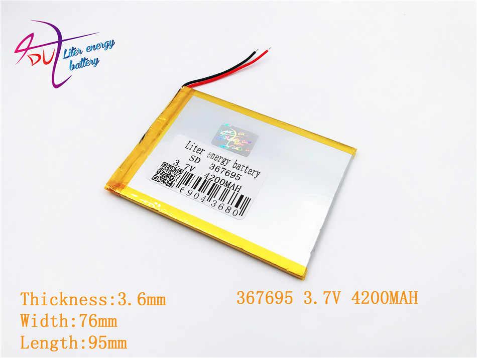 اللوحي 3.7 V ، 4200 mAH (Q88 اللوحي بوليمر بطارية أيون الليثيوم) بطارية ليثيوم أيون للكمبيوتر لوحي 7 بوصة 8 بوصة 9 inch [367695]