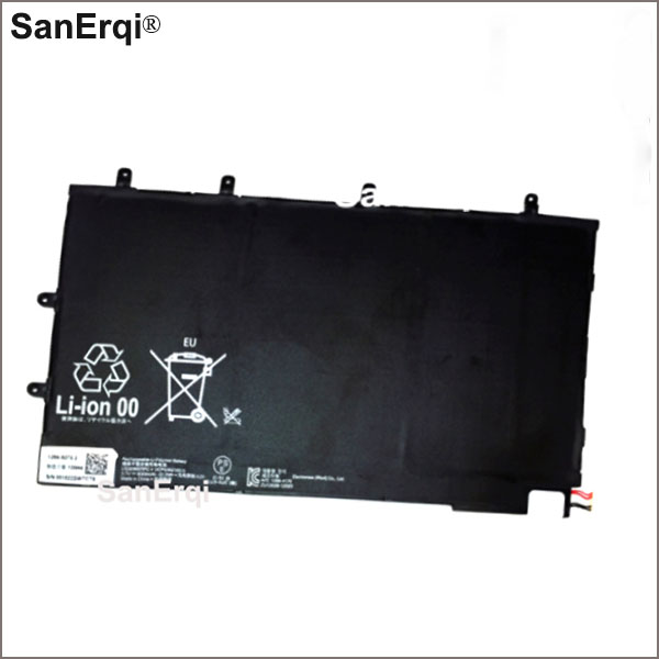 Battery For SONY Xperia Tablet Z Tablet 1ICP3/65/100-3 LIS3096ERPC Genuine Tablet Battery <font><b>6000mAh</b></font> image