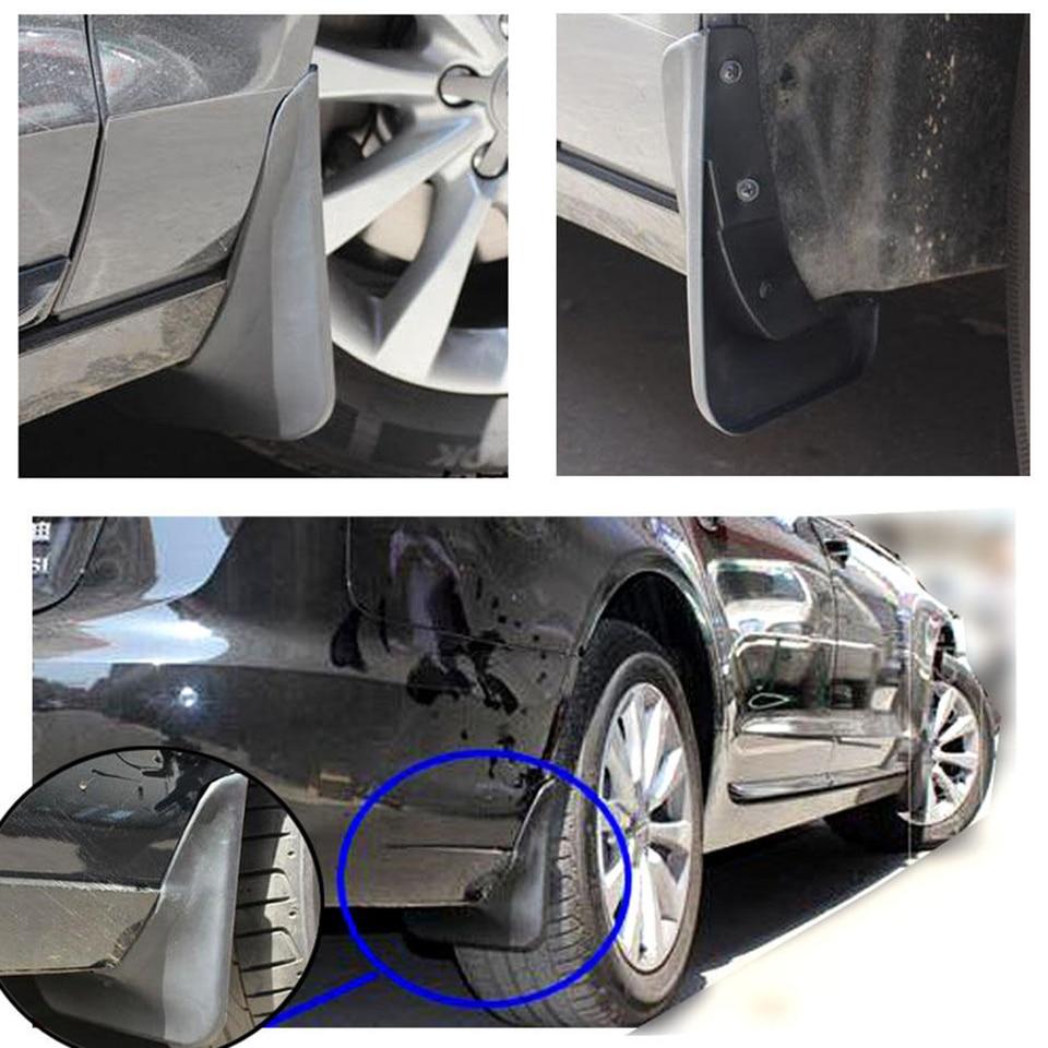 LIZCX Car Mud Flaps Fit For Audi A6 C7 Sedan 2011 2012 2013 2014 2015 2016 Mudguard Splash Guard Fender Mudflaps Accessories