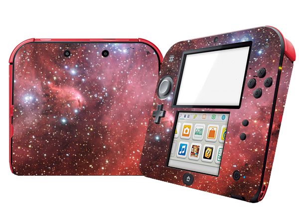 Natural Amazing Star Sky Vinyl Skin Sticker Protector for Nintend 2DS Stickers Decals