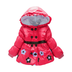 New 2016 kids jackets baby snowsuit girls winter snowsuit winter outwear with a hood cotton padded.jpg 250x250