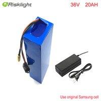 36v lithium battery 20ah / 36v electric bike lithium battery / 36V 20AH 1000W Electric Bicycle Battery with PVC case ,30A BMS
