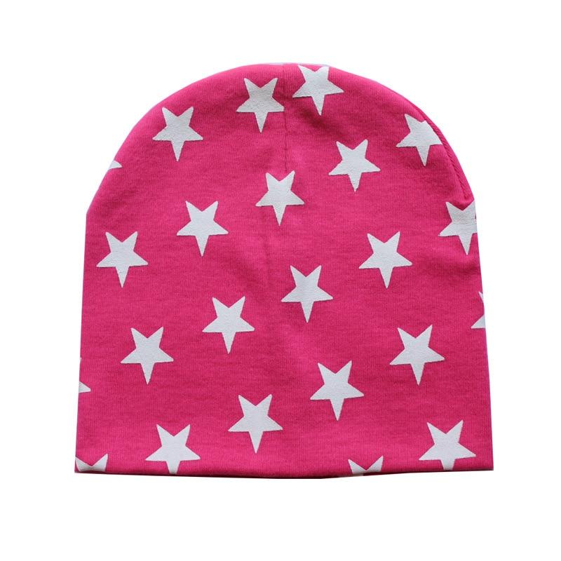 1 Piece Winter Autumn Spring Crochet Baby Star Hat Girls Boys Cap Beanie Infant Lycra Toddlers Hat Children Kids Clothes
