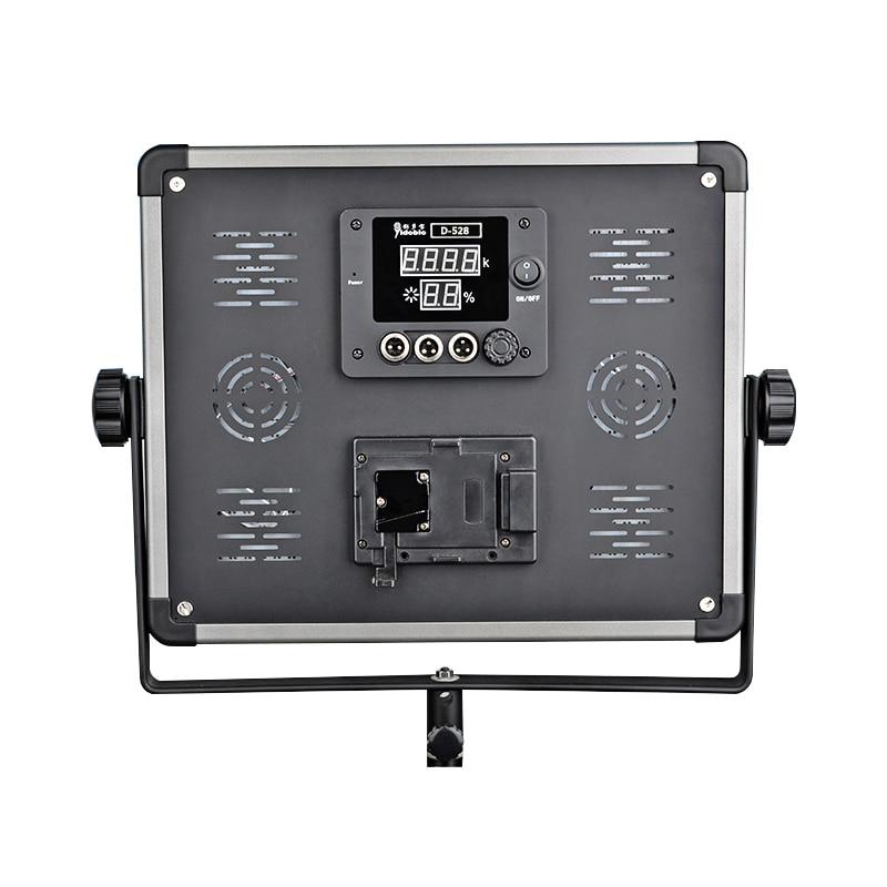 DHL 1 pc Jenama Dison Lampu LED lampu kamera D-1080 80W 7000 Lampu - Kamera dan foto - Foto 3