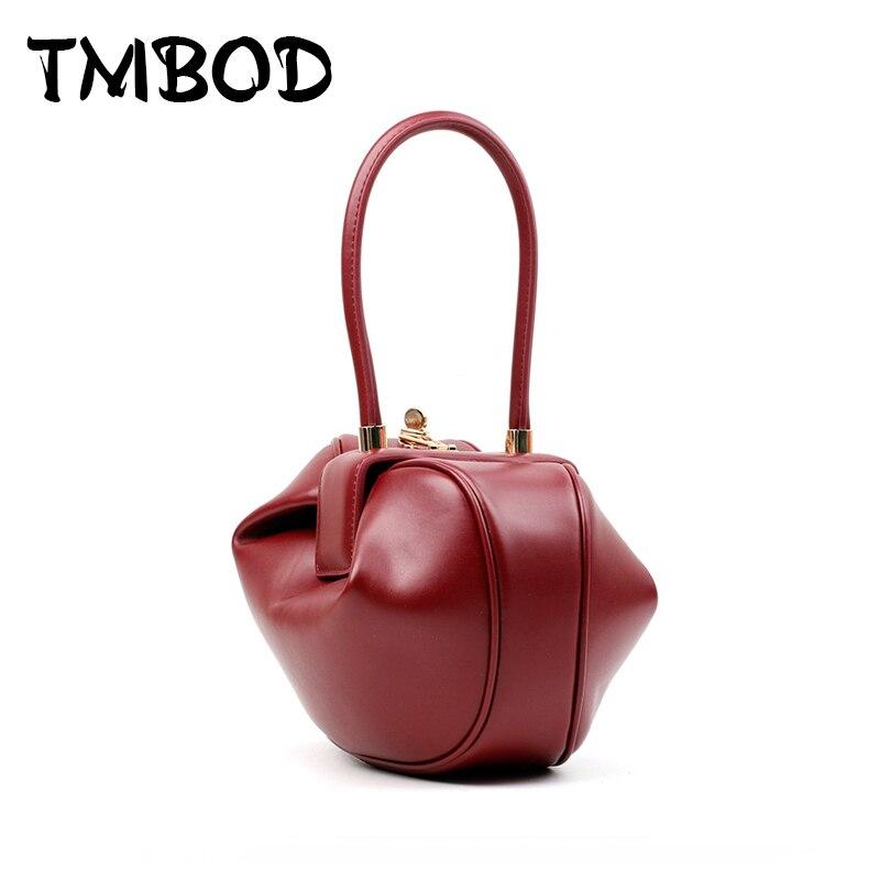 New 2018 Fashion Design 2 Size Classic Globular Shoulder Bag Split Leather Handbags For Female Women Ladies Small Tote an743 автоинструменты new design autocom cdp 2014 2 3in1 led ds150
