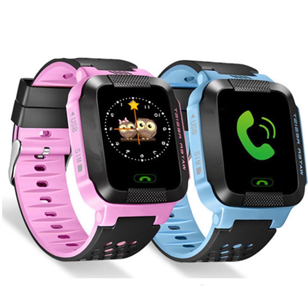 GPS Smart Baby Watch phone Y21 Q528 for kids safe SOS call