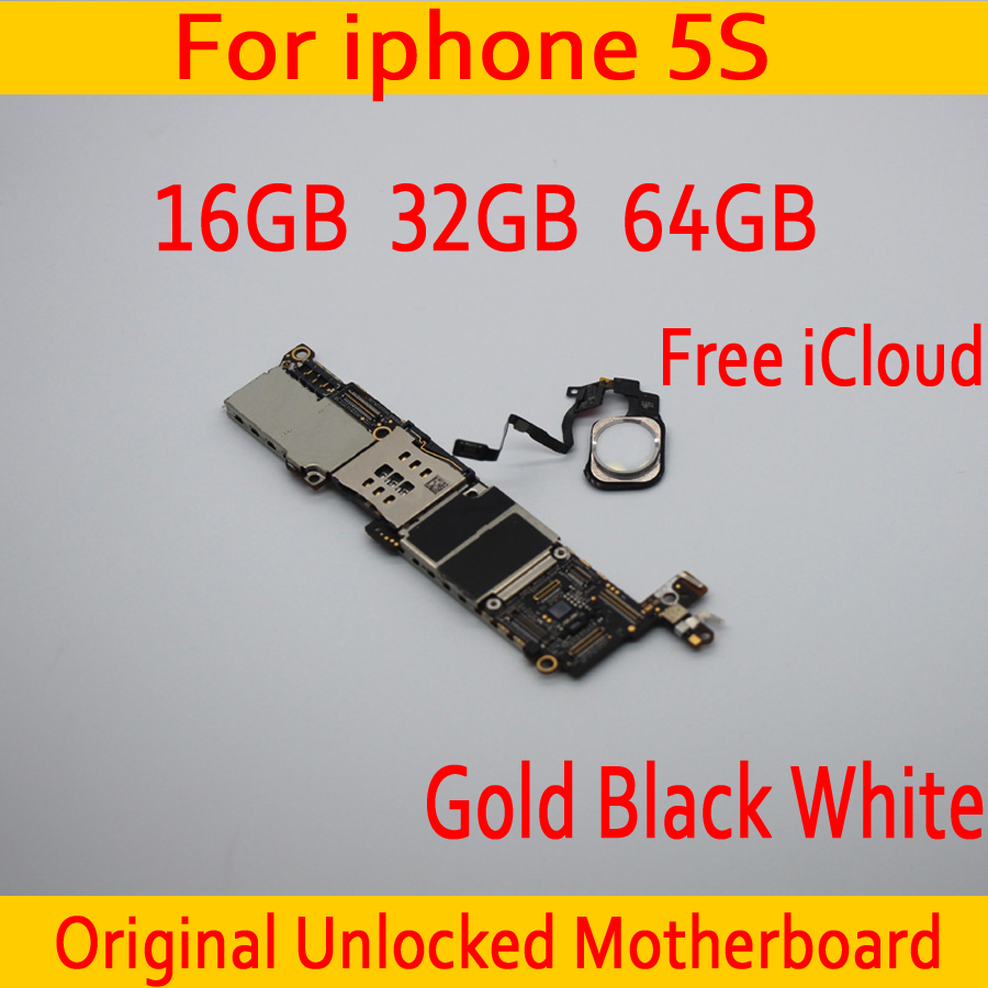 16GB 32GB 64GB for iphone 5S Motherboard with Free iCloud ,Original unlocked for iphone 5S Mainboard with Touch ID,Good Tested16GB 32GB 64GB for iphone 5S Motherboard with Free iCloud ,Original unlocked for iphone 5S Mainboard with Touch ID,Good Tested