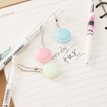 36pcs Korea creative stationery pendant neutral pen black water sweet and school things