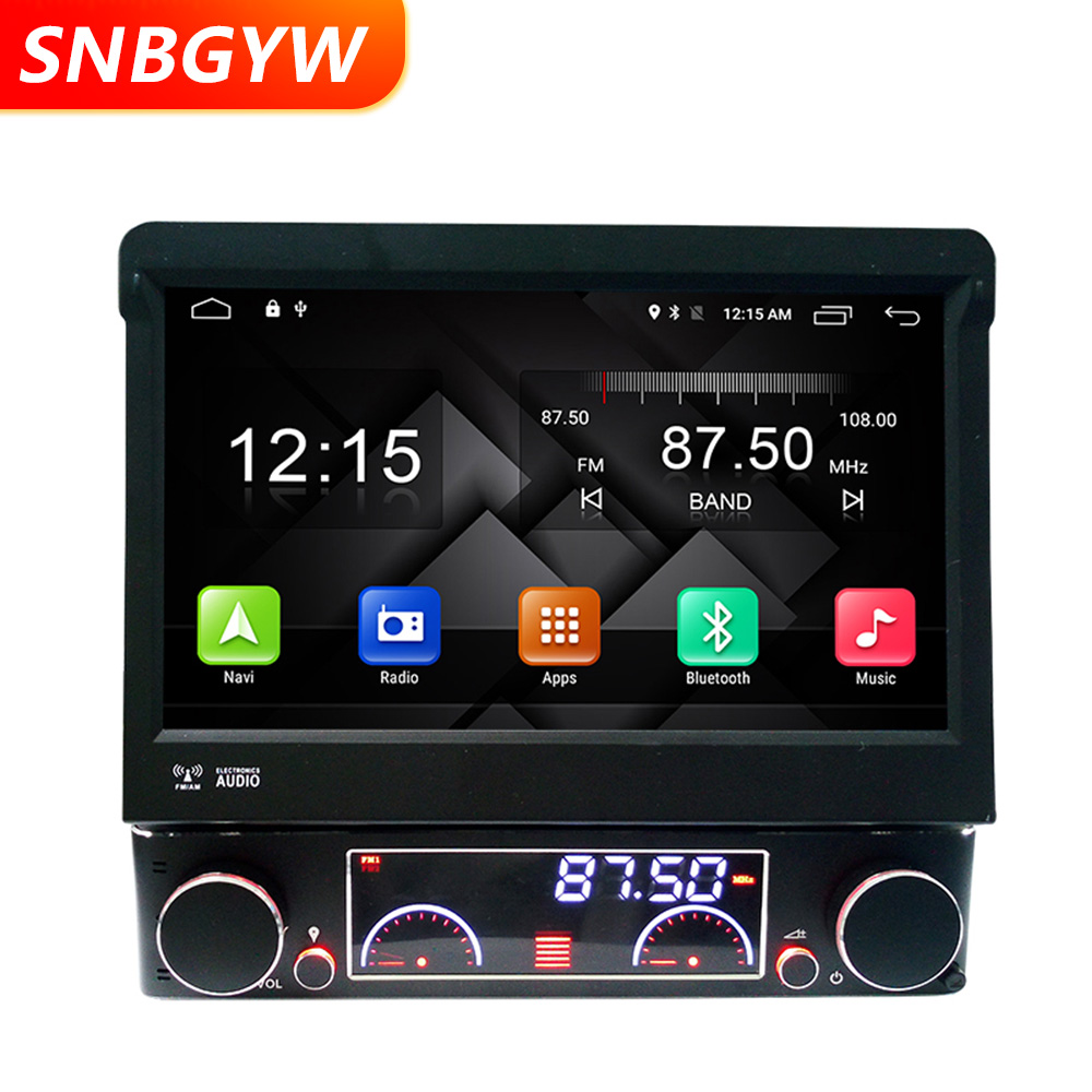 Car Android 1 din 4G WIFI 4 Core Car DVD Player 7 inch 1DIN Radio Stereo Multimedia GPS Navigation Bluetooth MP3 USB TV DH069