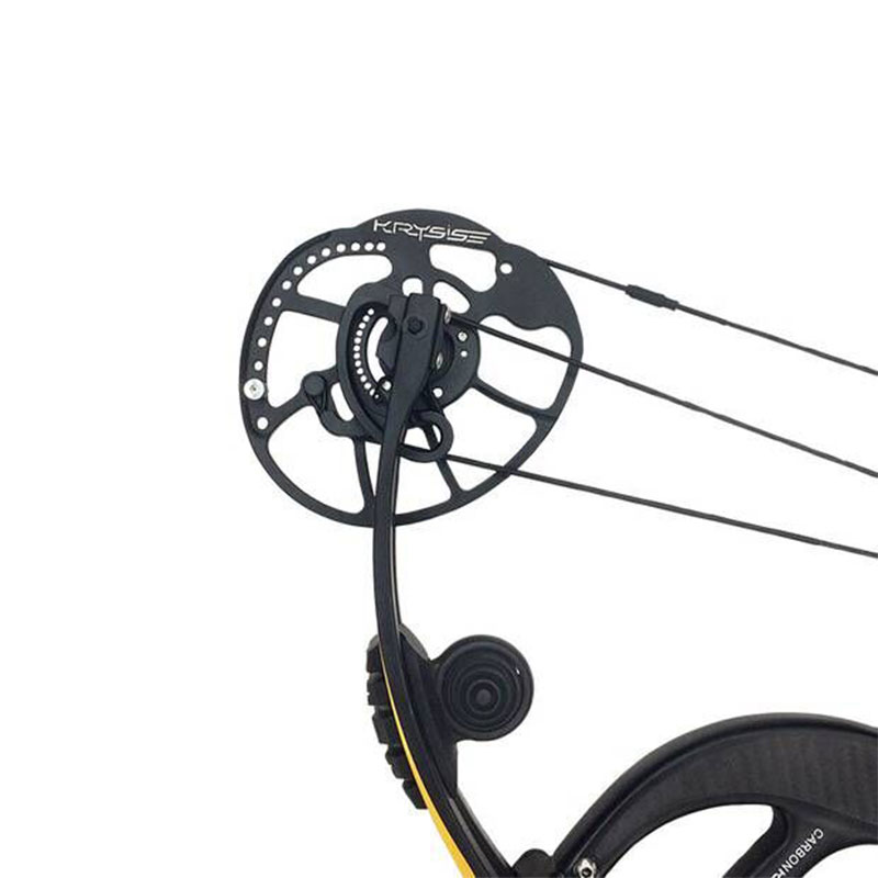 Image 3 - 1pc Archery Compound Bow Adjustable 50 65lbs IBO330 FPS Carbon Fiber With Carbon Stabilizer Hunting Shooting Accessories-in Darts from Sports & Entertainment