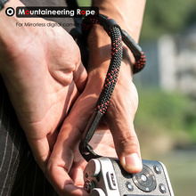Camera Wrist Hand Strap Mountaineering Nylon Rope Belt for Mirrorless Digital Camera Leica Canon Nikon Olympus Pentax Sony ковер cleo west