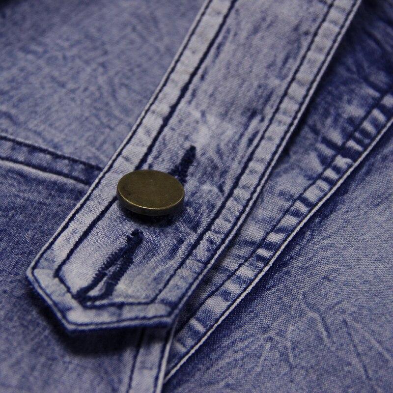 Pocket Abiti Denim Vestido Da A82035 Estate Asimmetrico Donne Bretella Boho Dalle Vestito May Yuzi Vestiti Patchwork 2017 Button New 87cw1