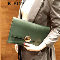 Envelope Bag Large Capacity Female Clutch Bag 2019 Autumn Trend Shoulder Bag Fashion Chain Clutch Bag wholesal Drop shipping F62