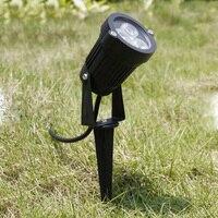 Outdoor LED Garden Lawn Light 3W 9W Landscape Lamp Spike Waterproof DC12V Path Bulb Warm White Green Spot Lights AC220V 110V|LED Lawn Lamps| |  -
