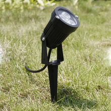 Outdoor LED Garden Lawn Light 3W 9W Landscape Lamp Spike Waterproof DC12V Path Bulb Warm White Green Spot Lights AC220V 110V