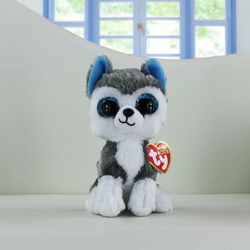 e632468253f Ty Beanie Boos Plush Toys Beanie Babies Big Eyes Slush Husky Dog Unicorn  Soft Stuffed Animal