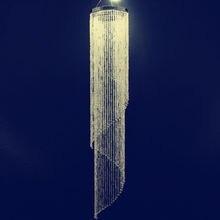 10 шт./лот подсвечник Диаметр 22 см* высокая 120 см свадебные люстра вихревой Кристалл переливающийся Радуга Цвет классические украшения
