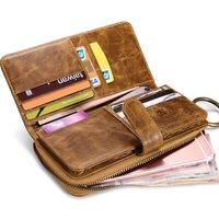 5.7 inch Universal Phone Cases For Xiaomi Redmi 3 Mi5 Vintage Leather Handbag For iPhone 6 6S Plus 5S 4S For Samsung S7 Edge