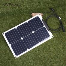 DIY Photovoltaic Panels Durable 20W Solar Cells Charging 18V Solar Panel