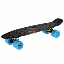 Elifine New Skateboard Durable Cruiser Complete Skateboard Street Skating Plastic Deck Board 22inch The Best gift for kids