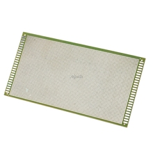 13x25 см Односторонний Прототип PCB Луженая DIY универсальная FR4 печатная плата Прямая поставка