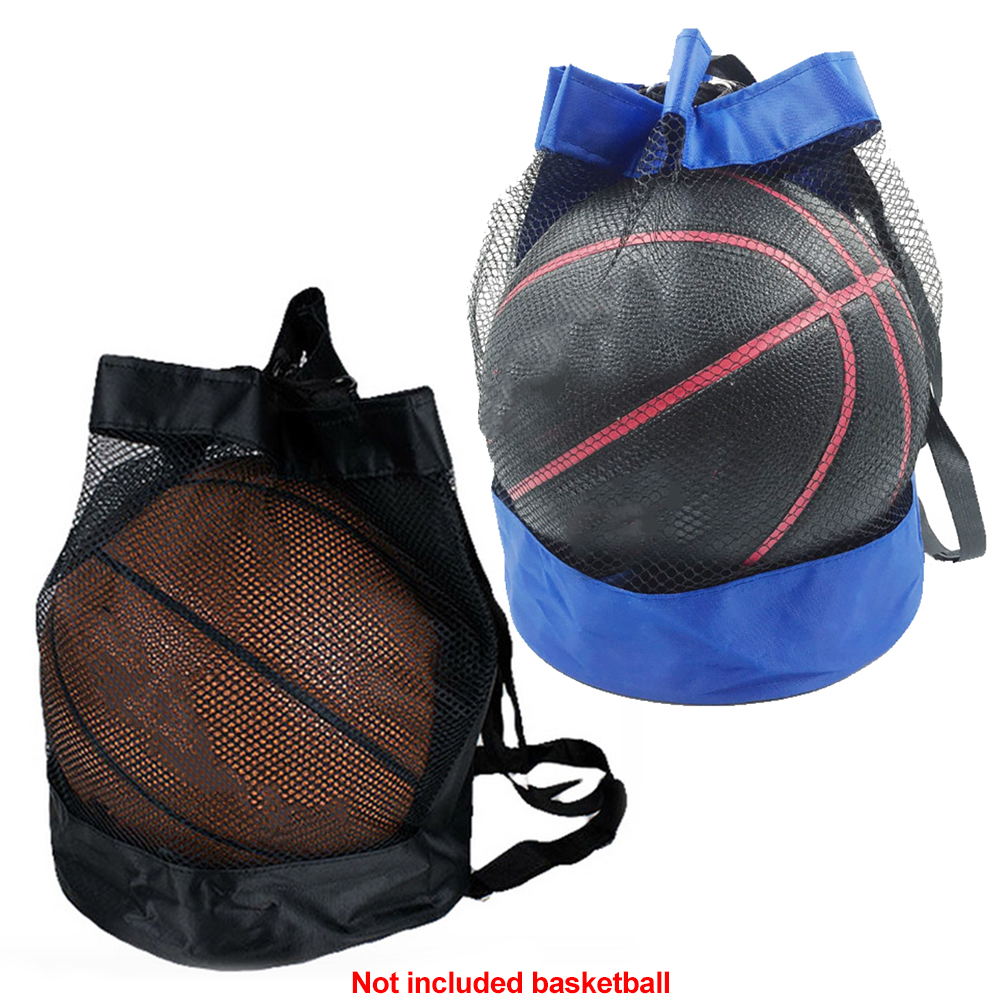 Carry Pouch Net Mesh Bag Portable Football Storage Crossbody Oxford Cloth Durable Outdoor Basketball Organizer Multipurpose