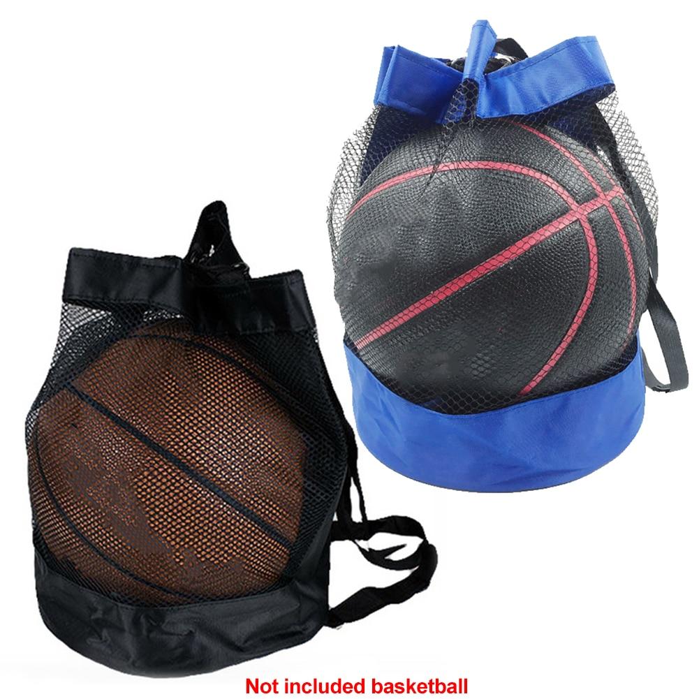 Carry Pouch Net Mesh Bag Portable Football Storage Crossbody Oxford Cloth Durable Outdoor Basketball Organizer Multipurpose