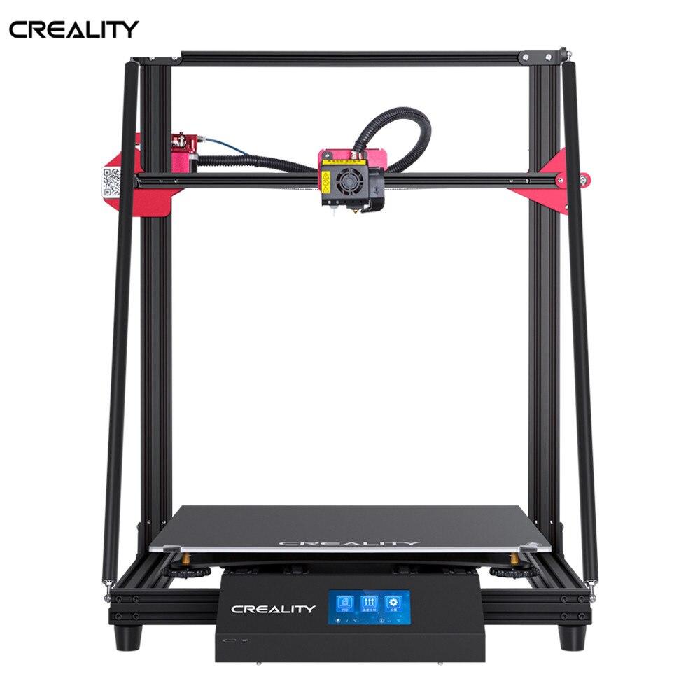 CREALITY 3D di Grandi Dimensioni CR-10 MAX 450*450*470 millimetri Auto livellamento Riprendere Stampa Filamento di Rilevamento Con 4.3inchTouch -schermo