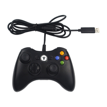 USB Wired Game Controller Joypad Controller with Shaking For Microsoft for Xbox Slim 360 PC for Windows 7 Raspberry Pi 3