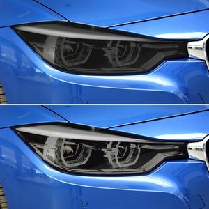 Image 2 - Autocollant pour phares antibrouillard, pour voitures, pour Peugeot 208 508 3008 BMW E36 F30 F10 E30 F20 X5 Mitsubishi lancer asx