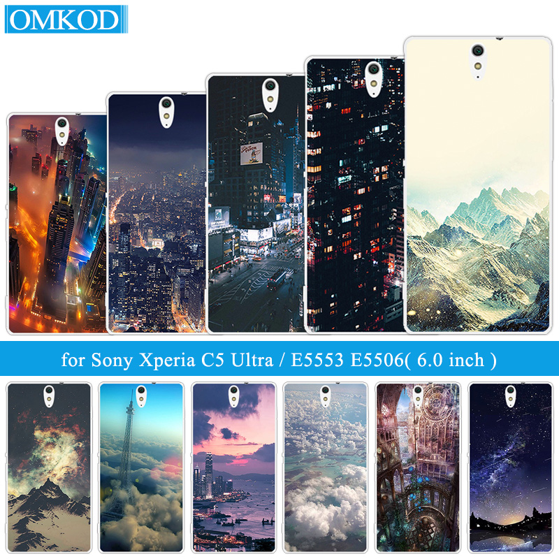 Phone Case For Sony Xperia C5 Ultra Silicone 6.0