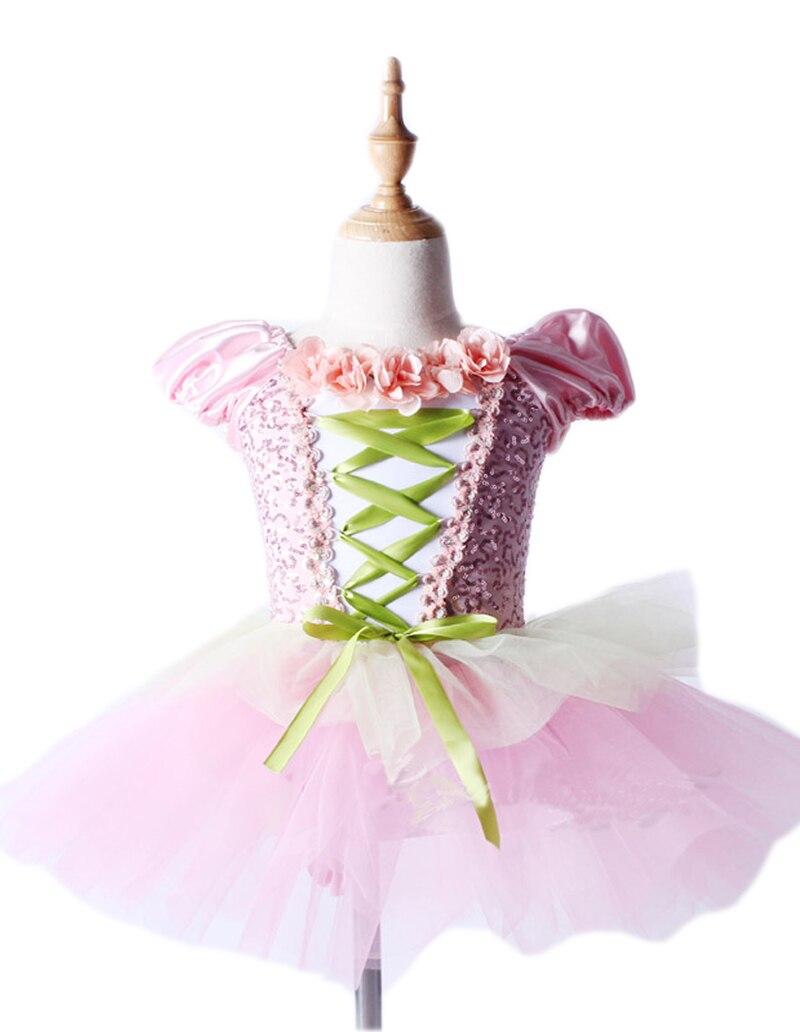 Kuummüük Professionaalsed balleti kostüümid Tutu roosa kleidi trikoo võimlemiseks Tüdrukud Naised Justaucorps De Danse Pour Les Femmes
