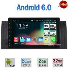 2GB RAM 32GB ROM 9″ Android 6.0 Octa Core Cortex PX5 Car DVD Player Radio GPS For BMW X5 E53 E39 E38 M5 5 7 series Range Rover