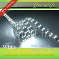Double row 5050 led strip 120LEDs/m , 600LEDs/5m , white/warm white non-waterproof ,Free shipping