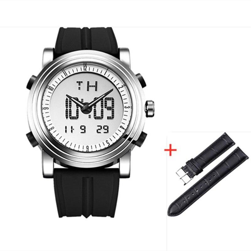 SINOBI Strap-Set Wristwatches Waterproof Chronograph Quartz Sports Men Relogio Man Masculino