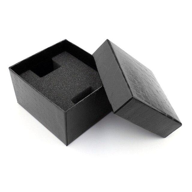 1 Pz Nero Coccodrillo Durevole Presenti Confezione Regalo Di Caso Per Il Braccia