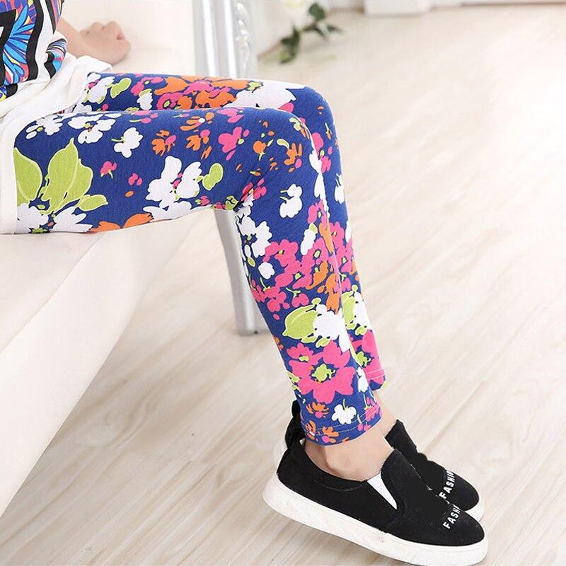 Multi-Color-Girl-Pant-Printing-Flower-children-pants-Spring-Autumn-kids-leggings-skinny-girls-leggings-Kids-Clothing-1