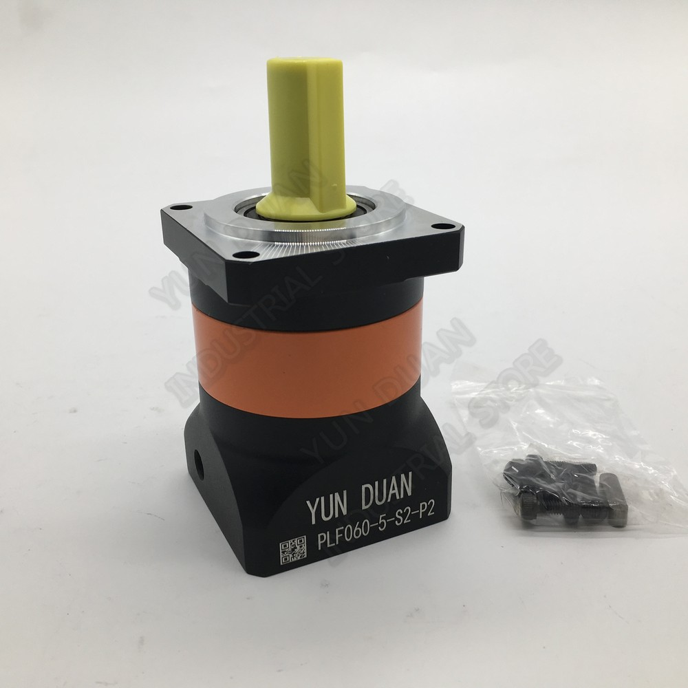 5:1 Planetary Reducer High Precision Mute 7Arcmin Backlash 14mm Gearbox Reducer for 60mm NEMA24 200W 400W 600W Servo Motor CNC5:1 Planetary Reducer High Precision Mute 7Arcmin Backlash 14mm Gearbox Reducer for 60mm NEMA24 200W 400W 600W Servo Motor CNC