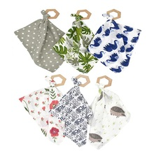 Baby Scarf Baby Lovey Teether ToyBaby Towel Baby Stuff Baby Pinafore цена