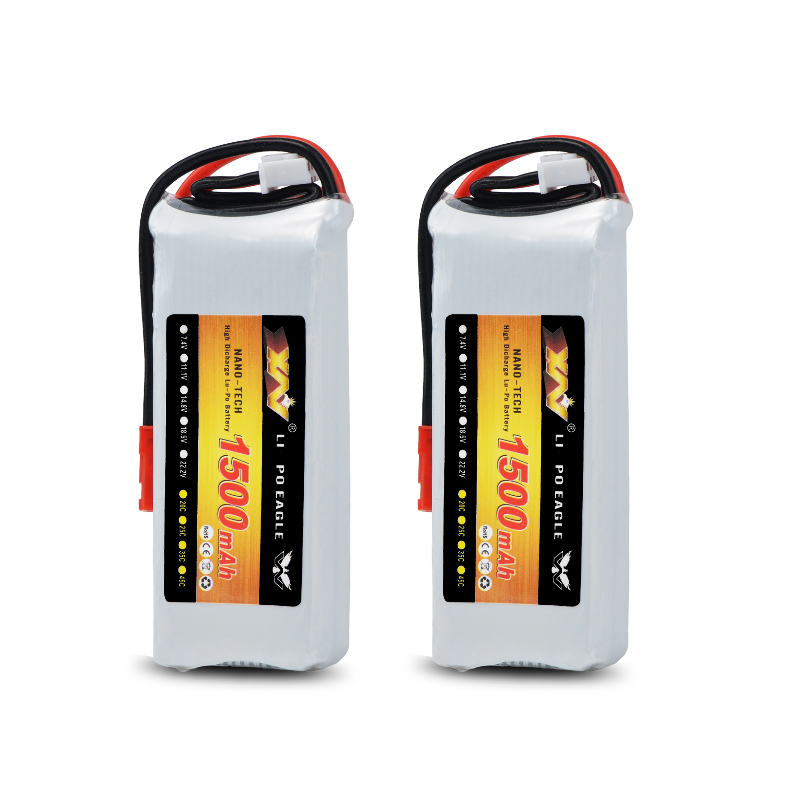 Replacement 7.4V 1500Mah 20C Rechargeable Lipo Battery For Hubsan H501S H502S H109S H901A Transmitter