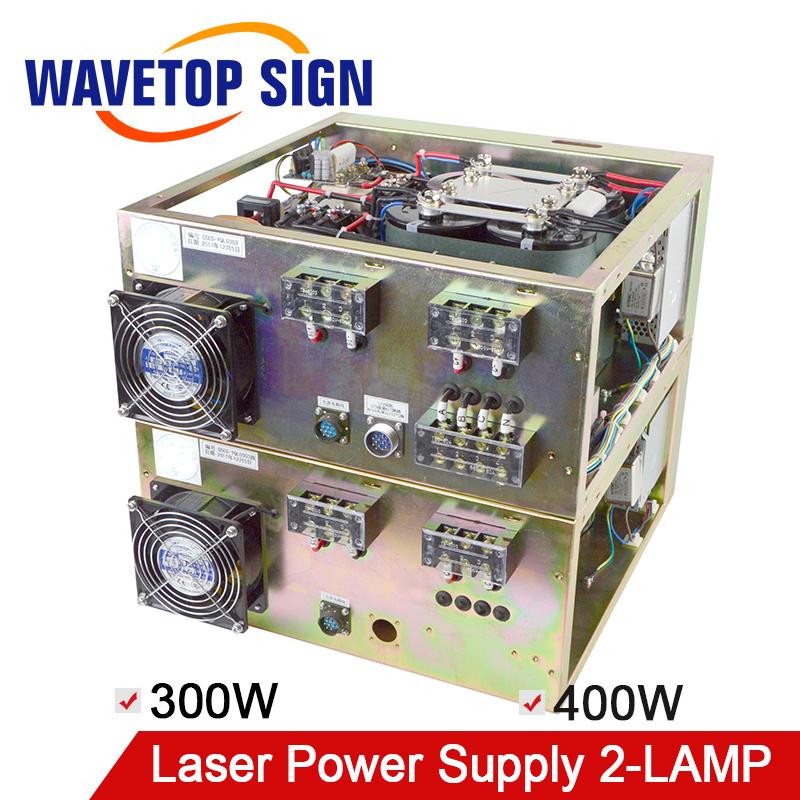 Laser Welding Cutting Machine Power Box Laser Power Supply Double Light 300W 400W цены онлайн